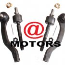 Honda Civic & CR-X Steering Car Parts  Inner Outer Tie Rod Ends Right & Left New