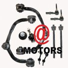 New Upper Control Arms Lower Ball Joints Front Sway Bar Links Tie Rods Navigator