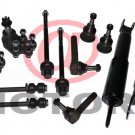 4WD Steering Tie Rods Sway Bar Ball Joint Shocks Absorbers Chevy Silverado 1500