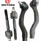 Ev217 Free Shipping Tie Rod Ends Front Inner Outer Right Left Honda Civic CRX