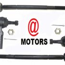 Steering Tie Rod End 2 Front Inner 2 Front Outer Chevy Camaro Saturn SW Pontiac
