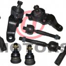 Kit Tie Rods Inner Outer Lower Ball Joint Truck Part Toyota Tundra Sequoia 04-07