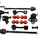 2004 Chevrolet Classic 2.2 L4 Suspension & Steering Kit Ball Joints Tie Rods