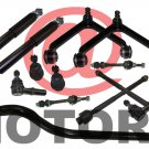 Front Shocks Absorber Track Bar Control Arms Tie Rod Ends Dodge Ram 1500 4WD