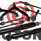 4WD Front Shocks Absorbers Sway Bar Tie Rods End Lower Joints For Dodge Ram 1500