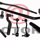 Drag Link Tie Rods Ball Joint Sleeve Truck Parts 4WD Super Duty FORD F250 F350