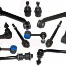 Chrysler Aspen Steering Tie Rod Ball Joints Control Arms Sway Bar Dodge Durango