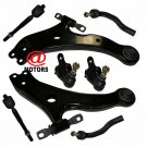 Steering Suspension Kit Toyota Camry 07-11 Lower Control Arm Rack End Ball Joint