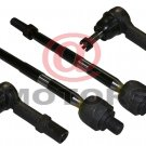 Steering 2 Inner 2 outer Tie Rod Ends Fits on Chevrolet Traverse Buick Enclave