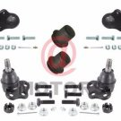 Front Lower Upper Ball Joint Upper Control Arm Bushing Kit For Dodge Dakota RWD