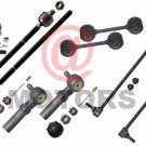 Steering Part Front Outer Inner Tie Rod End Stabilizer Bar Link For Voyager 2000