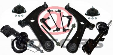 Suspension Strut Absorbers Control Arms Rack Ends Sway Bar Jeep Compass Patriot
