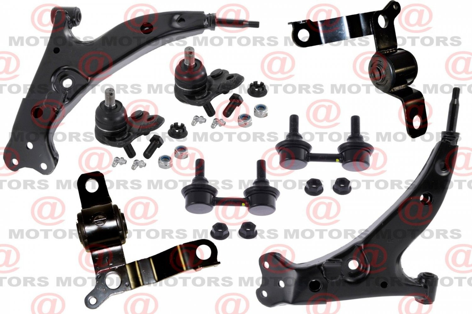 For Toyota Corolla 1993-1995 Control Arm Ball Joint Bushing Stabilizer Bar Link