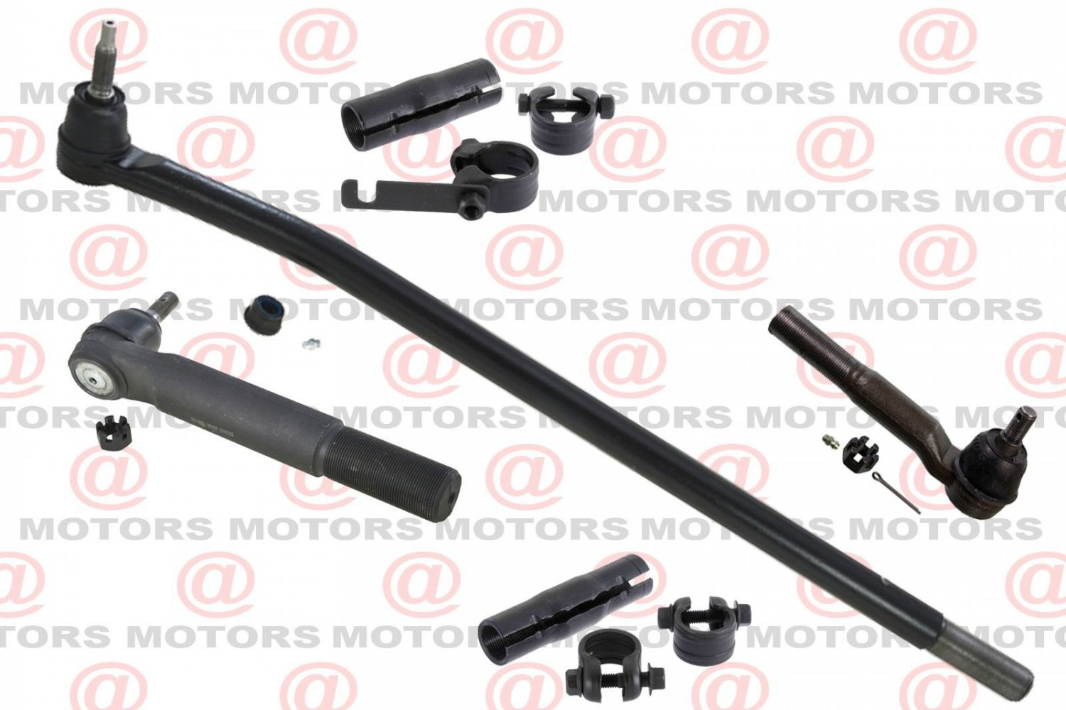 For Dodge Ram 2500 3500 4WD 2003-2010 Outer Inner Tie Rods Steering