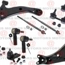 For 2002 Chevrolet PRIZM  Front Rh & Lh Control Arm Balls Sway Bar Link Tie Rods