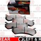 For Pontiac G5 2007-2010 Rear Left Right Disc Brake Pad Semi-metallic MD1033