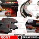 For Kia RIO 5 2006-2011 Front Disc Brake Pad Semi-Metallic Rear Brake Shoes Set