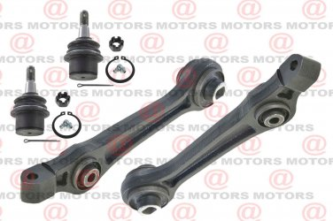 For Dodge Challenger RWD 08-11 Front Left Right Rearward Control Arms Ball Joint
