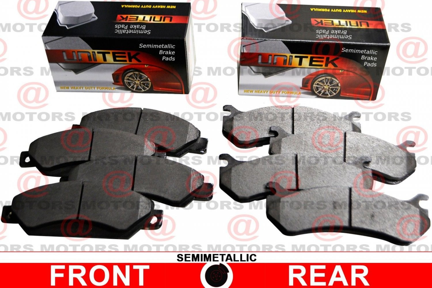 For Nissan SENTRA 2007-2012 Front And Rear Left Right Brake Pads New