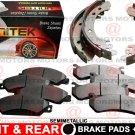 For Mazda Tribute 2005-2008 Brake Shoes Brake Pads Set Left right Semi-Metallic