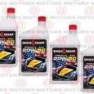 Premium Motor Oil SAE 20W-50 Quarter 946 ml Made In USA 4 Pack Underground