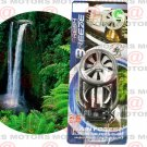 Freshener Rain Forest Car Air 10ml Clip-on Last Up To 45 Days Spinning Action