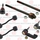 Front Outer Inner Tie Rods Lower Ball Joints Sway Bar Link For Liberty 06-07  New