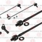 For Endeavor 04-11 Front Left Right Inner Outer Tie Rod End Sway Bar 6 Pieces