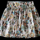 OLD NAVY Spring Summer Flower Power Skirt 10