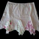 VENEZIA Pink Lilac Stripe Kerchief Summer Skirt 28