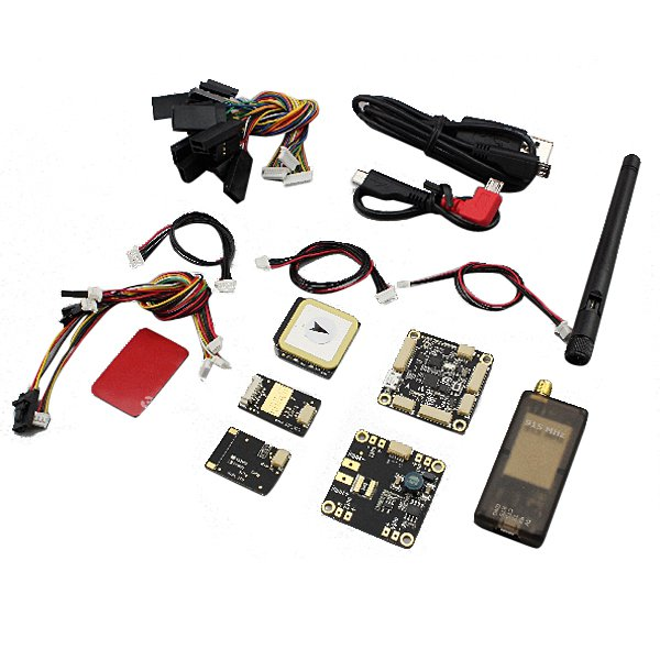 Mini APM2.72 Flight Controller with 6M GPS Telemetry OSD Power Board