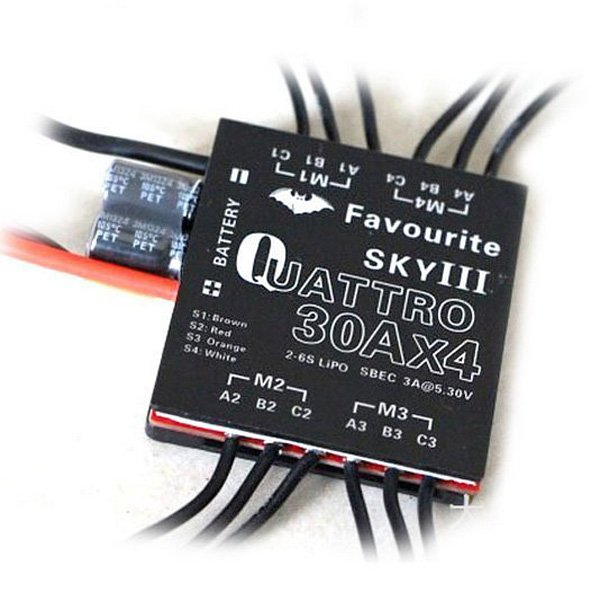 SKY 30A 4 In 1 Brushless ESC 2-6S For Quadcopter Multicopter