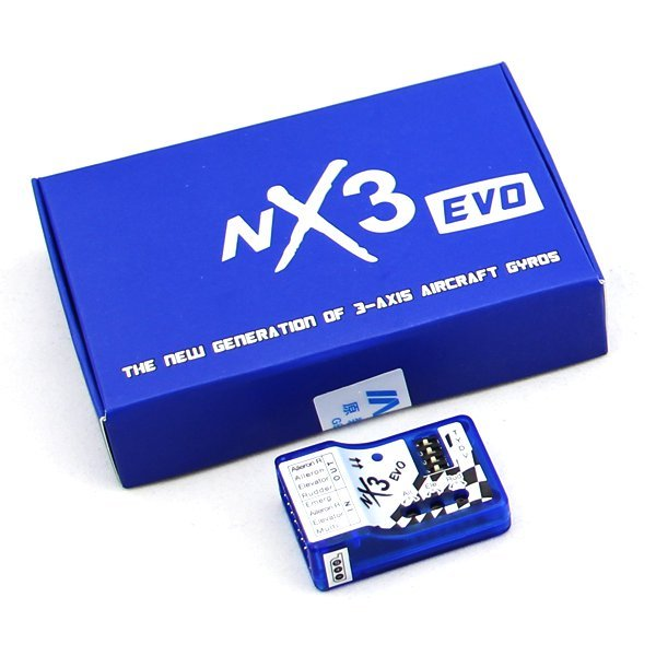 NX3 Evo Flight Controller Auto-balance For RC Airplane Upgraded Version