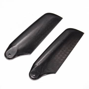 Tarot 450 3K Carbon Paddle Tail Blade Black TL2330 F00647