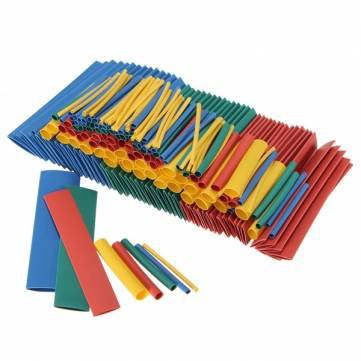 260pcs 2:1 Polyolefin H-type Heat Shrink Tube Sleeving 4 Color 8 Size