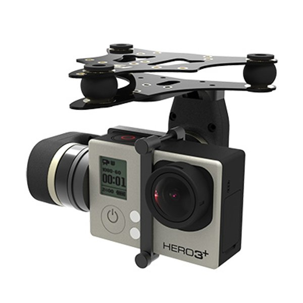 Feiyu Tech FY MiNi2D 2-Axis Brushless Gimbal For Gopro4 Gopro3+ Gopro3 Sport Camera_Sold Out