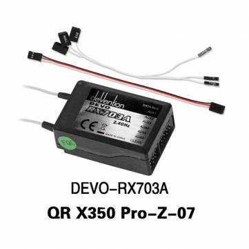 Walkera QR X350 Pro RC Quadcopter Receiver DEVO-RX703A