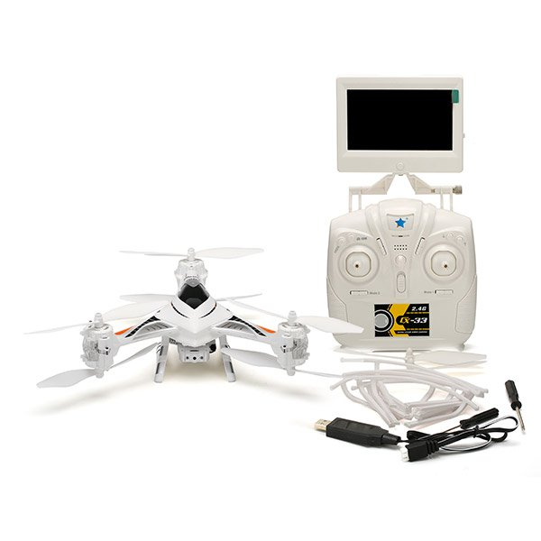 Cheerson CX-33S CX33S 5.8G FPV 2.0MP HD Camera With High Hold Mode RC Tricopter