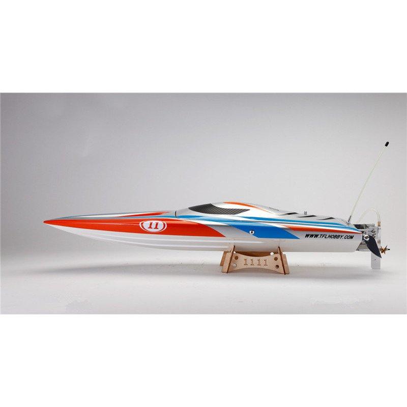 TFL Hobby 65cm  Fiber Glass Off Shore RC Racing Boat Brushless Motor 70A ESC