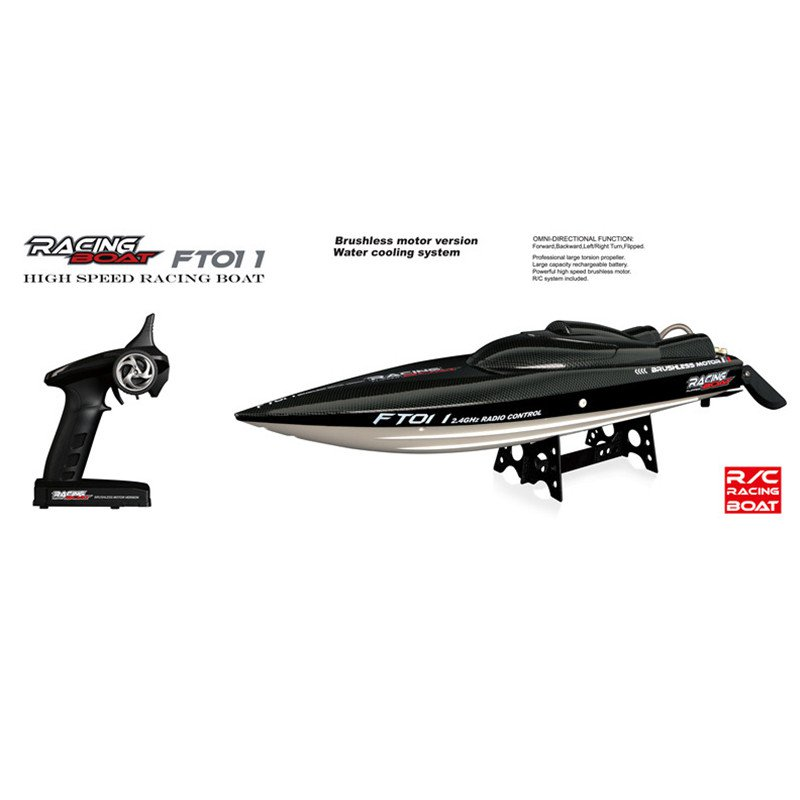 Feilun FT011 65CM 2.4G Brushless RC Boat High Speed Racing Boat With Water Cooling