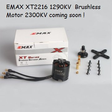 EMAX XT2216 1290KV  Brushless Motor-Sold Out !