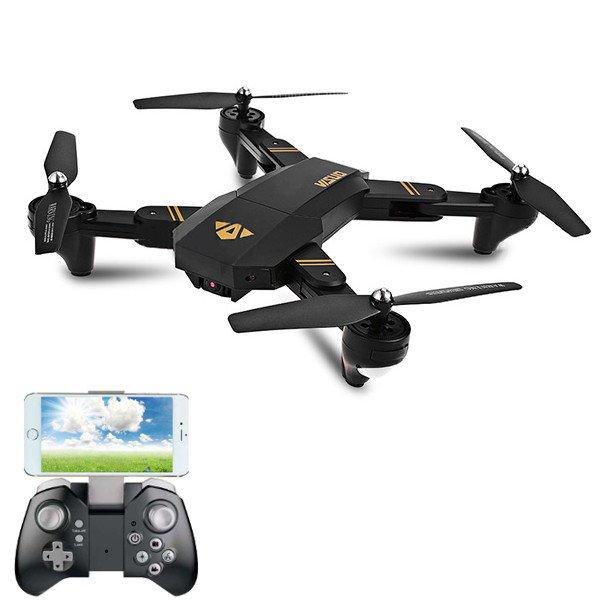 VISUO XS809W WIFI FPV With 2MP HD Camera Headless Mode Foldable Arm RC Quadcopter RTF