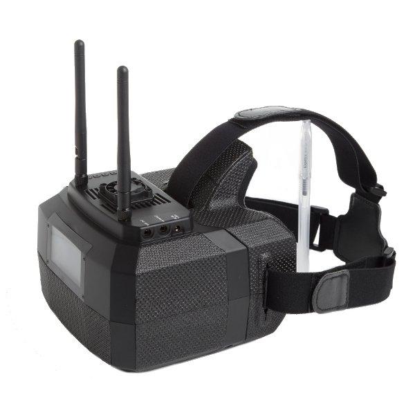 "Skyzone GS500 5.8G 48CH Raceband Diversity FPV Goggles 5"" 800x480 HDMI Video Glasses"
