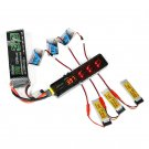 AOKoda CX605 XT60/USB Battery Charger for 3.7V  1S Lipo Battery