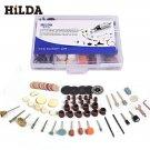 HILDA 91pcs Electric Polishing Kit Dremel Rotary Tool Accessory Set