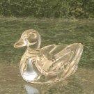 Art Glass Duck Paper Weight