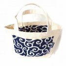 Tote bag Japanese KARAKUSA-Navy Blue