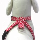 Dog KARAKUSA Harness RED SS size