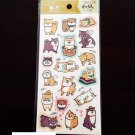 Kawaii Shiba inu Japanese paper stickers from Japan