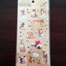 Kawaii Japanese Shiba inu photo stickers from Japan -1